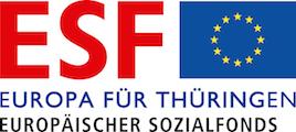 ESF Logo Thüringen